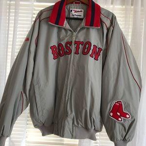Gray Red Sox Jacket